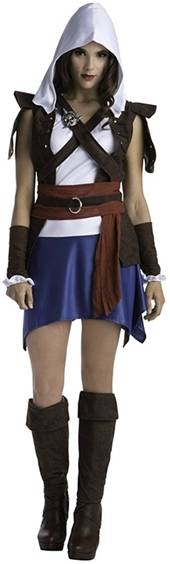 ASSASSINS CREED SEXY EDWARD COSTUME FOR WOMEN