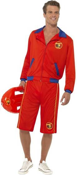 BAYWATCH MALE LIFEGUARD COSTUME FOR MEN