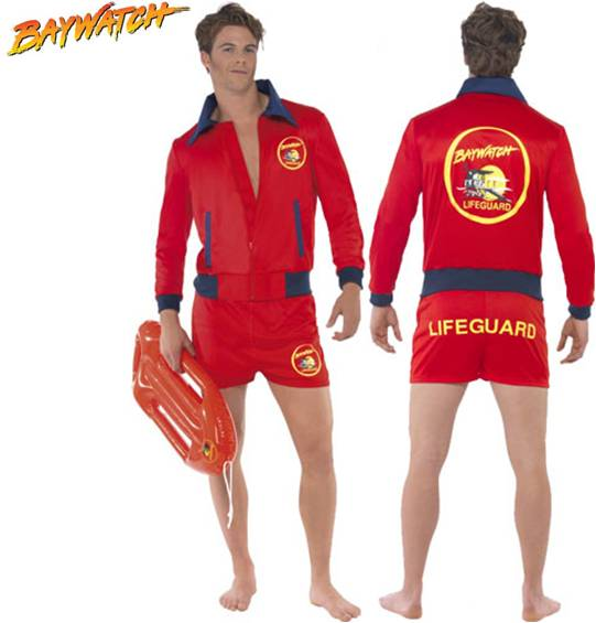 BAYWATCH MALE LIFEGUARD