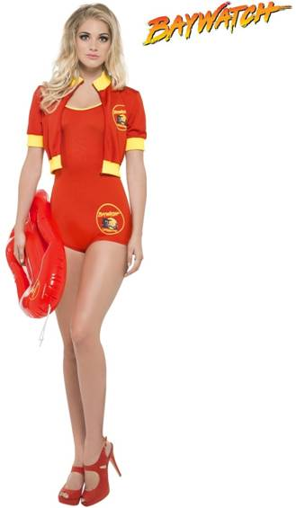BAYWATCH FEMALE LIFEGUARD SUIT