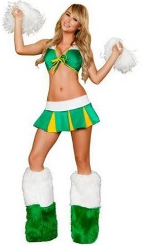 CHEERFUL SEDUCTRESS CHEERLEADER