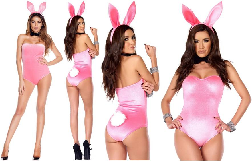 SEXY COTTON BUNNY COSTUME FOR WOMEN