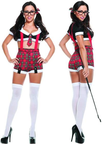 SEXY DETENTION SCHOOL GIRL COSTUME FOR WOMEN