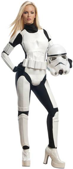 SEXY FEMALE STORMTROOPER