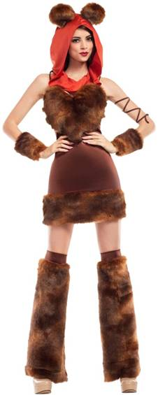 SEXY FURRY CREATURE COSTUME FOR WOMEN