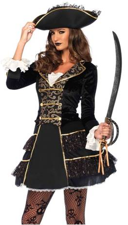 SEXY HIGH SEAS PIRATE COSTUME FOR WOMEN