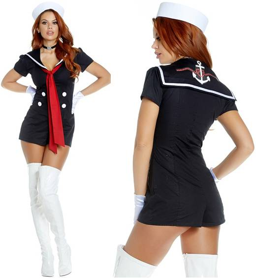 SEXY KISS AND SAIL SAILOR COSTUME FOR WOMEN