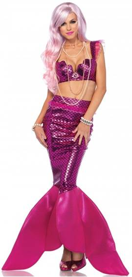 SEXY MALIBU MERMAID COSTUME FOR WOMEN