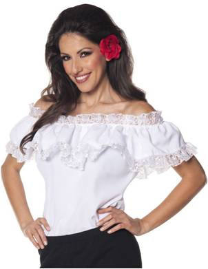 SEXY SEÑORITA COSTUME BLOUSE FOR WOMEN