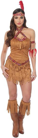 NATIVE AMERICAN PRINCESS COSTUME FOR WOMEN