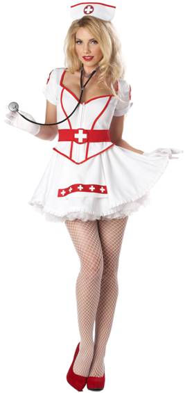 SEXY NURSE HEARTBREAKER COSTUME FOR WOMEN