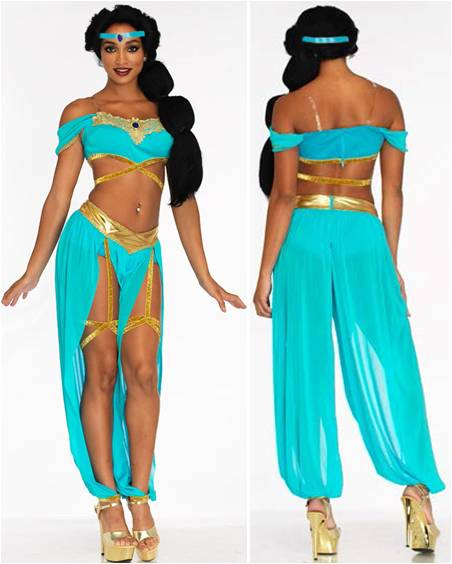 SEXY OASIS PRINCESS JASMINE COSTUME FOR WOMEN
