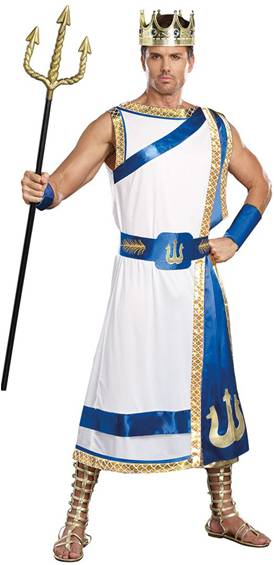 POSEIDON COSTUME FOR MEN