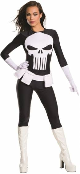 SEXY PUNISHER COSTUME FOR WOMEN