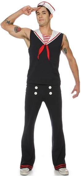 SEXY RETRO SAILOR COSTUME FOR MEN
