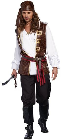 SEAWORTHY PIRATE COSTUME FOR MEN