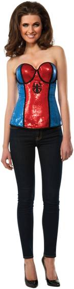 SPIDER-GIRL SEQUIN CORSET