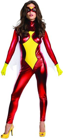 SEXY SPIDER-WOMAN COSTUME FOR WOMEN