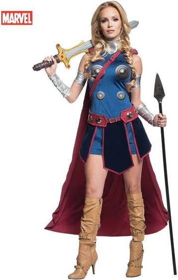 SEXY THOR (VALKYRIE) COSTUME FOR WOMEN