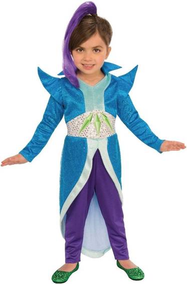 DELUXE ZETA COSTUME FOR INFANT AND TODDLER GIRLS