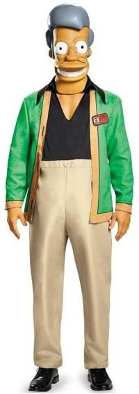 THE SIMPSONS APU COSTUME FOR MEN