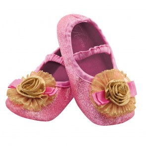 PRINCESS AURORA SLIPPERS FOR TODDLER GIRLS