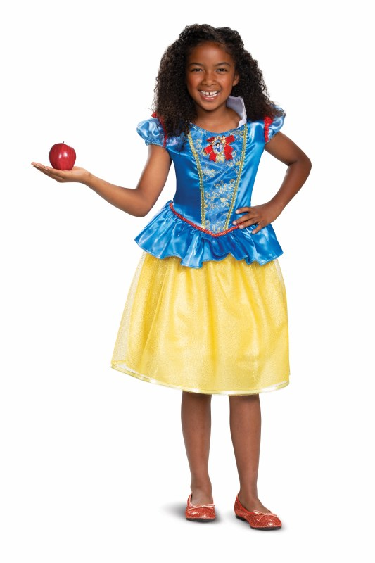 CLASSIC SNOW WHITE COSTUME FOR GIRLS