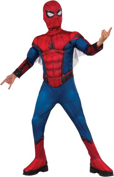 DELUXE SPIDER-MAN: HOMECOMING COSTUME FOR BOYS