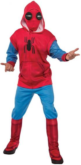 DELUXE SPIDER-MAN: HOMECOMING HOMEMADE COSTUME