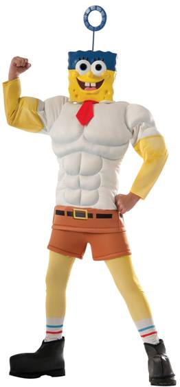 SPONGE BOB INVINCIBUBBLE COSTUME FOR BOYS