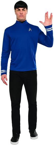 "STAR TREK MR. SPOCK/LEONARD ""BONES"" MCCOY COSTUME"