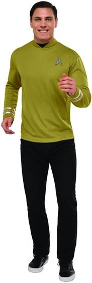 STAR TREK CAPTAIN JAMES T. KIRK COSTUME FOR MEN
