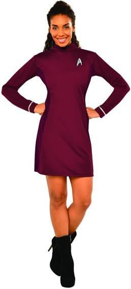 STAR TREK SEXY NYOTA UHURA COSTUME FOR WOMEN