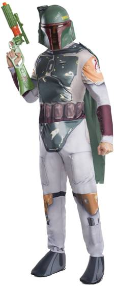 STAR WARS BOBA FETT COSTUME FOR MEN