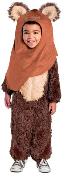 STAR WARS DELUXE EWOK WICKET COSTUME FOR BOYS