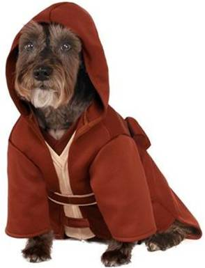 STAR WARS JEDI DOG COSTUME
