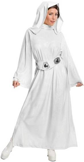 STAR WARS PRINCESS LEIA DELUXE COSTUME FOR WOMEN