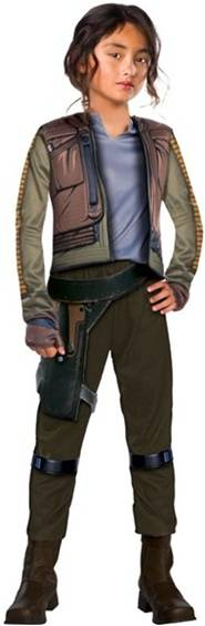STAR WARS ROGUE ONE JYN ERSO COSTUME FOR GIRLS
