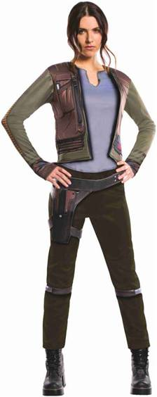 STAR WARS ROGUE ONE JYN ERSO COSTUME FOR WOMEN