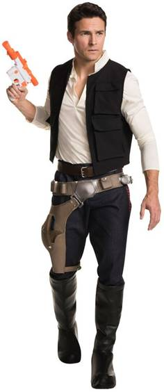 STAR WARS THEATRICAL QUALITY HAN SOLO COSTUME