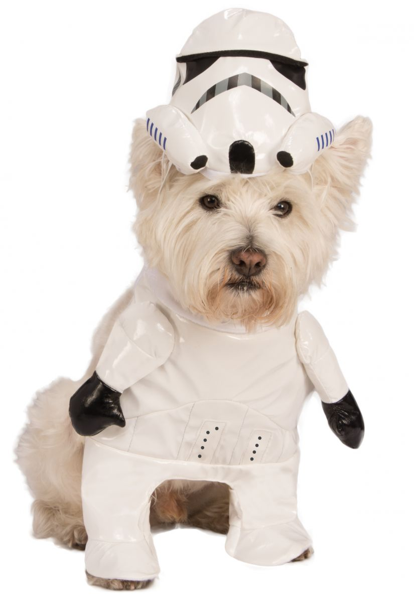 STAR WARS WALKING STORMTROOPER COSTUME FOR DOGS