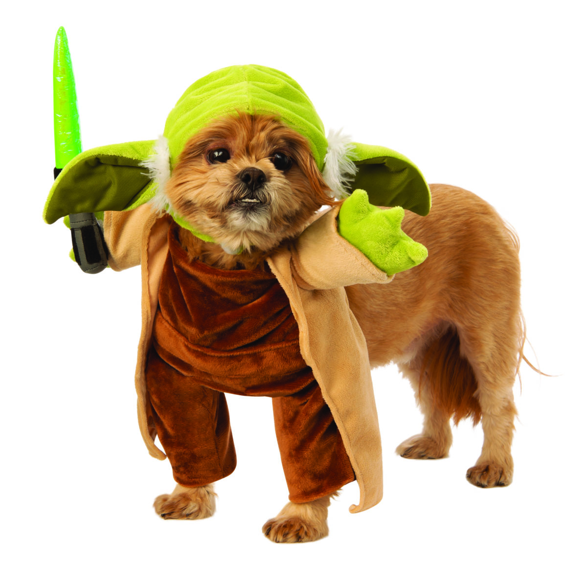 STAR WARS WALKING YODA COSTUME FOR DOGS / CATS
