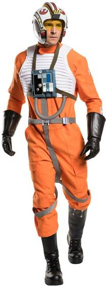 THEATRICAL QUALITY STAR WARS X-WING PILOT COSTUME