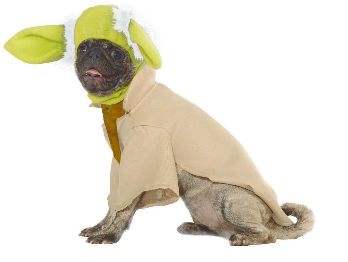 STAR WARS YODA COSTUME FOR DOGS / CATS