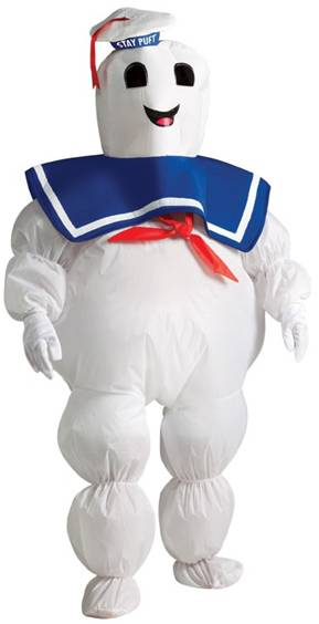 STAY PUFT MARSHMALLOW MAN COSTUME FOR BOYS