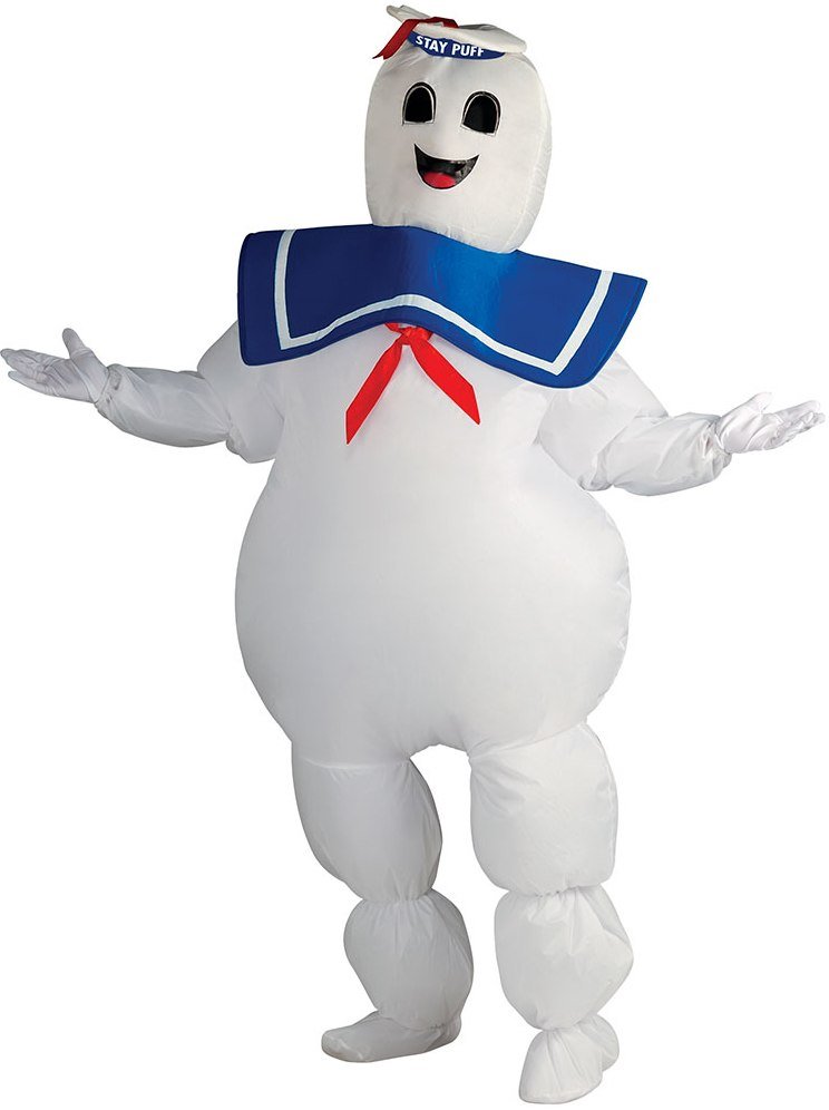 STAY PUFT MARSHMALLOW MAN COSTUME FOR MEN