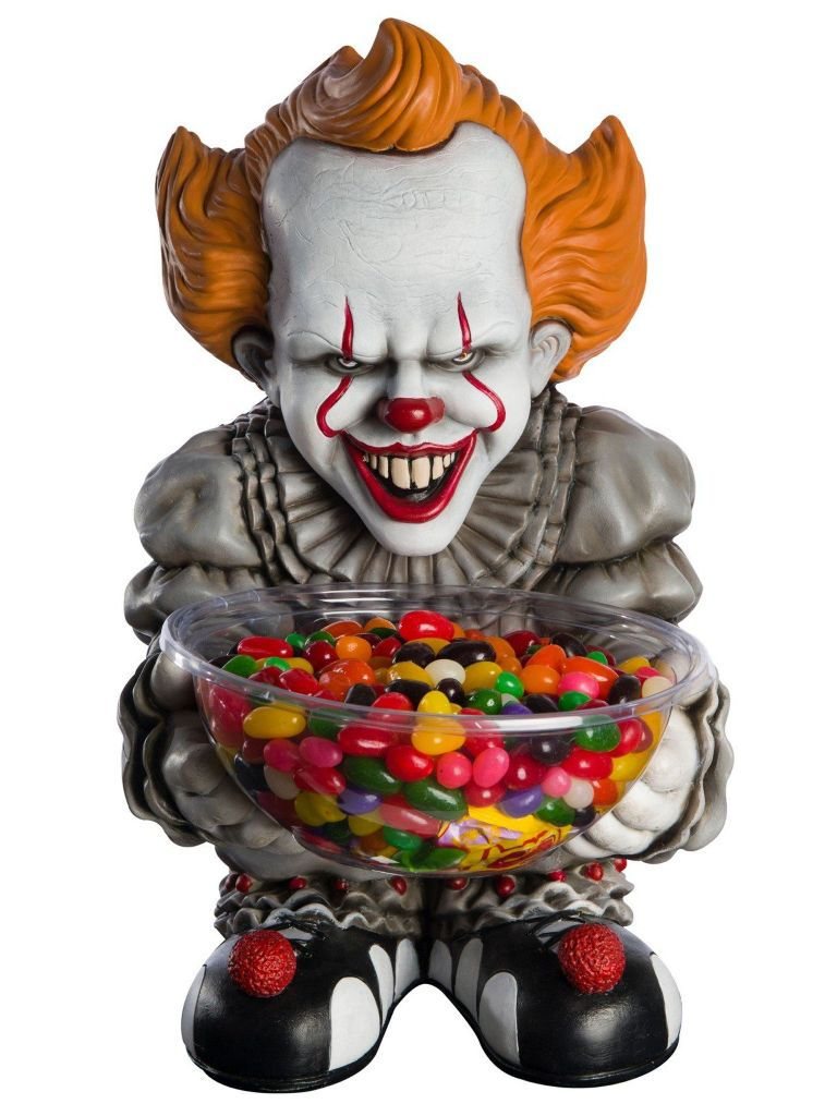 STEPHEN KING'S IT PENNYWISE EVIL CLOWN CANDY BOWL