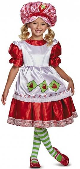 VINTAGE STRAWBERRY SHORTCAKE COSTUME FOR GIRLS Click for larger image  sc 1 st  Crazy For Costumes/La Casa De Los Trucos (305) 858-5029 - Miami ... & Crazy For Costumes/La Casa De Los Trucos (305) 858-5029 - Miami ...