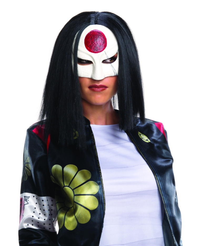 SUICIDE SQUAD DELUXE KATANA WIG FOR WOMEN
