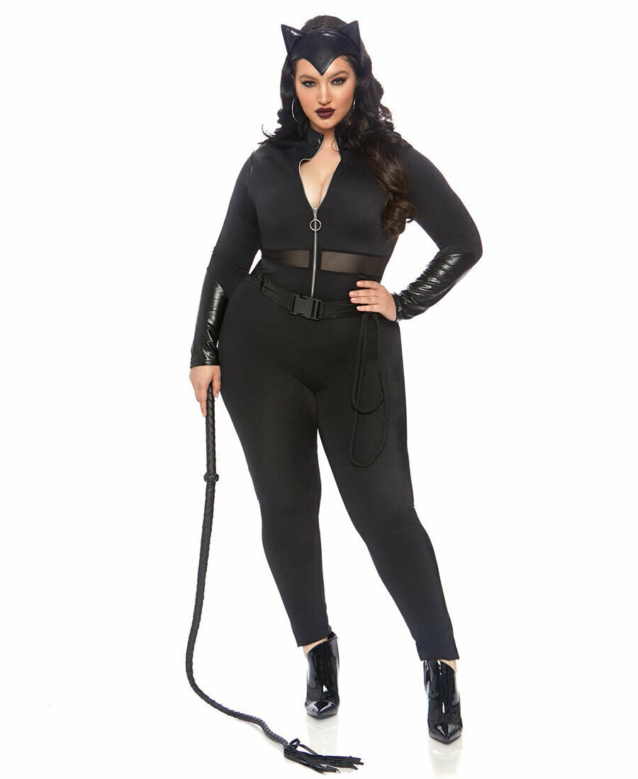 SULTRY SUPERVILLAIN CATWOMAN COSTUME FOR WOMEN